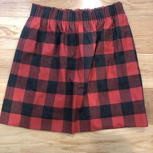 Jcrew pull on skirt
